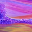 Purple Forest. by Sesha