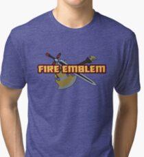 BLAZING BLADE | Fire Emblem Titles Tri-blend T-Shirt