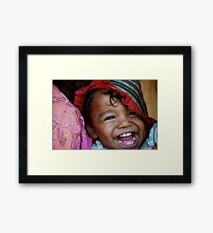 Happy Soul Framed Print