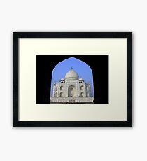 Taj Mahal Framed Print