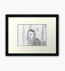 Lil' Miss Crystal Framed Print