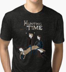 Hunting Time. Tri-blend T-Shirt