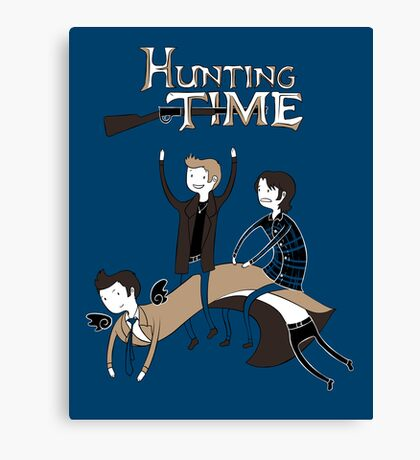 Hunting Time. Canvas Print
