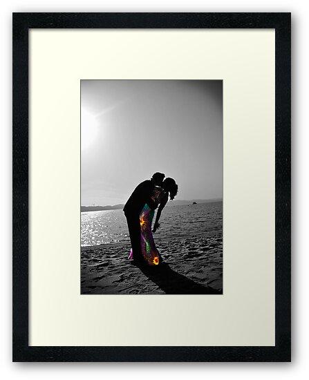 Formal Beach Kiss by nikstar222