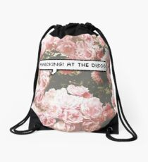 panicking! at the disco Drawstring Bag
