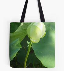 In the beginning was a Lotus Bud... Tote Bag