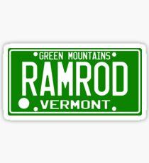 Car Ramrod Sticker