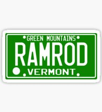 Car Ramrod Sticker