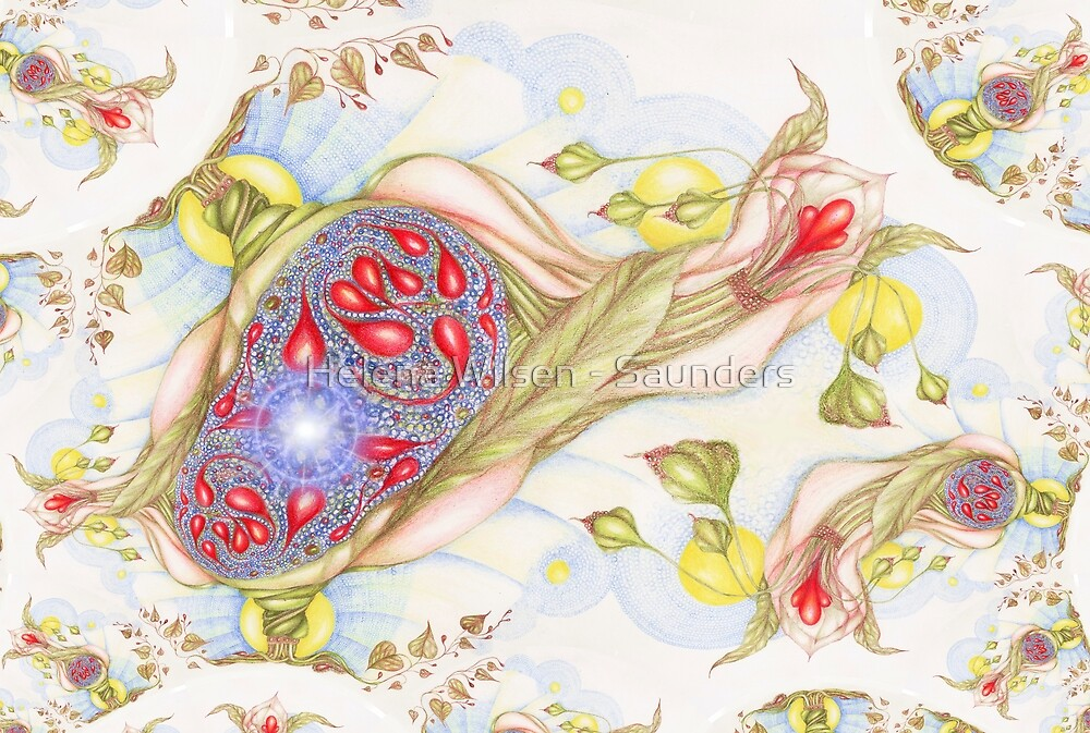 Faith Fractal by Helena Wilsen - Saunders