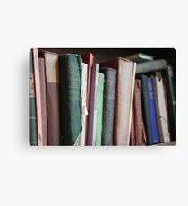 Books to read. Canvas Print
