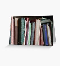 Books to read. Greeting Card