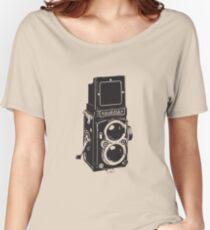 Camera: Rolleiflex Women's Relaxed Fit T-Shirt