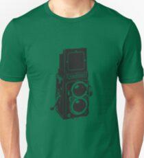 Camera: Rolleiflex Unisex T-Shirt