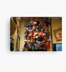 Muppet Mania Canvas Print
