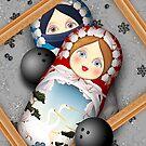 Matryoshka Bowling Accident by Yanko Tsvetkov
