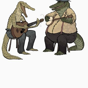 Dueling Crocodylidae by Fauxbulous