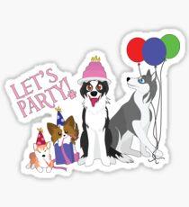 Party Animals Sticker