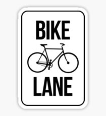 Bike Lane Sticker