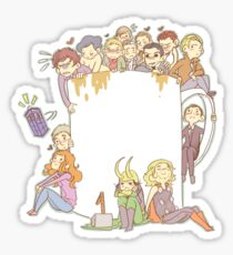 All The Fandoms, All The Tea Sticker