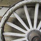 Old Wagon Wheel by CuteNComfy
