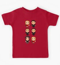 Red Song - Boxies V2 Kids Tee