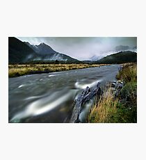 The Misty Mountains - Cascade Creek  Photographic Print