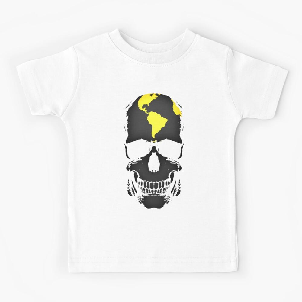 Globe Skull Kids T-Shirt
