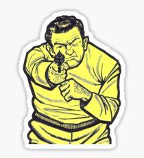 Thug Target Sticker Sticker