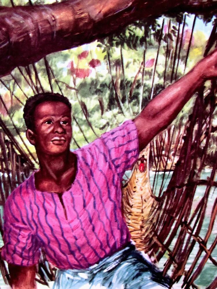 Congolese boy  by goldyparazi