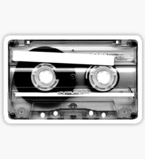 Cassette Tape Mixtape Clear Plastic Sticker
