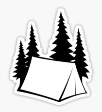 Camp Site Sticker