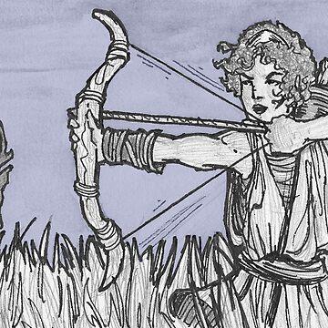 Artemis by razsolo