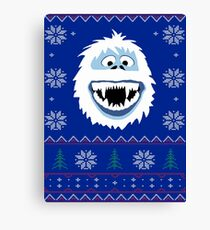 Bumble's Ugly Sweater Canvas Print