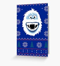 Bumble's Ugly Sweater Greeting Card