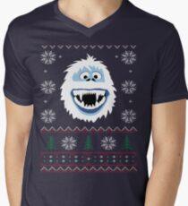 Bumble's Ugly Sweater Men's V-Neck T-Shirt