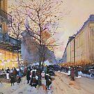 Place de la République, Paris from Eugene Galien LaLoue 1900 by Jsimone
