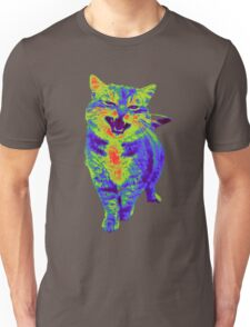 Psychedelic Cat Unisex T-Shirt