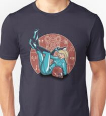 Power-up Pin-up- Metroid Shirt Unisex T-Shirt