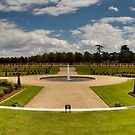 Formal Gardens of Hampton Court Palace by JLaverty