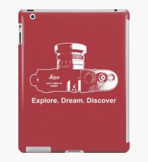 Leica Explore Dream Discover iPad Case/Skin
