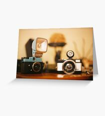 Lomo Greeting Card