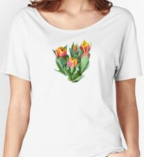 Tulips Just Opening Women's Relaxed Fit T-Shirt