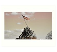 Iwo Jima Memorial, Wash DC Art Print