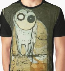 O for Owl Graphic T-Shirt