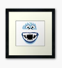 Simple Bumble Face Framed Print