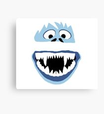 Simple Bumble Face Canvas Print