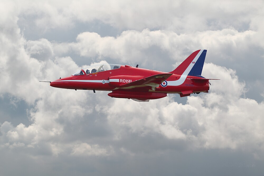 Red Arrows - H.S. Hawk by Pat Speirs