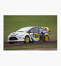 Marcus Gronholm - Ford Fiesta WRC Photographic Print