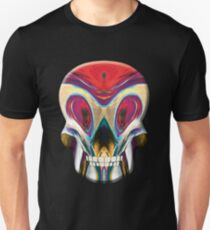 Munch Inspired Lucha Skull T-Shirt