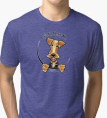 Airedale Terrier :: It's All About Me Tri-blend T-Shirt